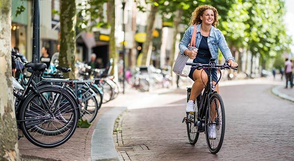 stadsfiets en hybride fiets