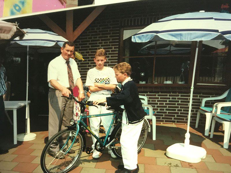 Frank, Paul en Wim van De Tweewieler Fietsen