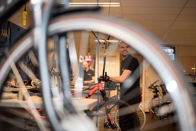 Reparatie fiets Vught