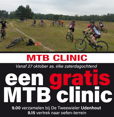 MTB clinic tweewieler WP 2018